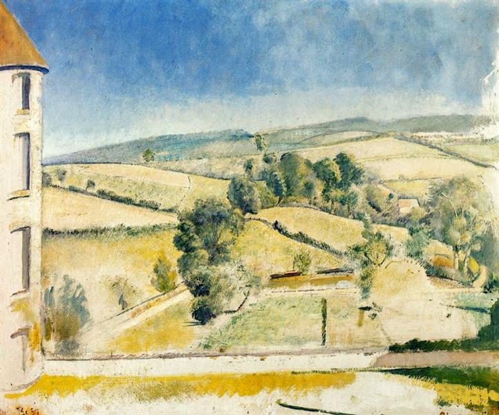 Landscape in Chassy, 1957 - Balthus
