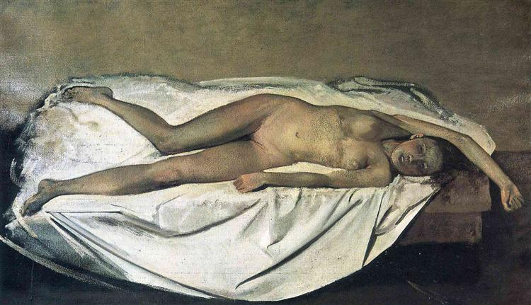 The Victim, 1938 - Balthus