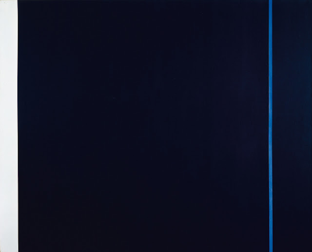 Midnight Blue, 1970 - Barnett Newman