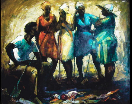 Broom Crew (From The Garden Party), 1976 - Barrington Watson