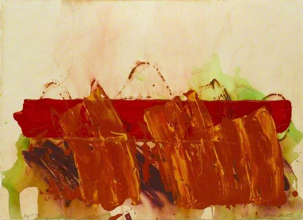 Cause and Effect V, 1973 - Basil Beattie