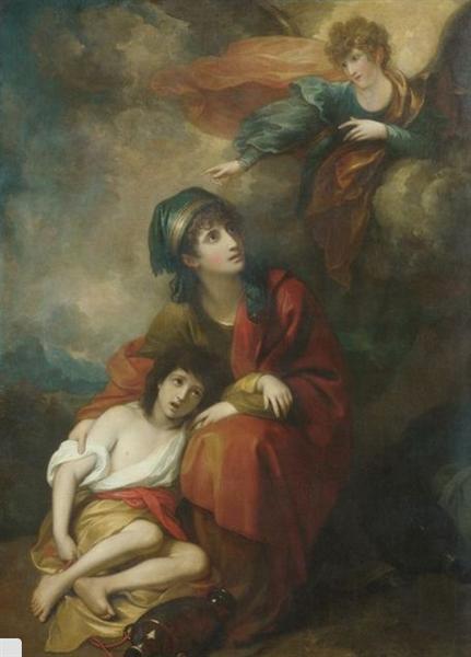 Hagar and Ishmael, 1776 - Benjamin West