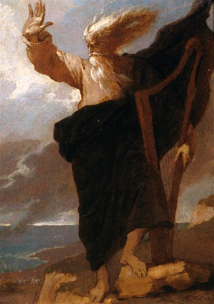 The Bard, 1778 - Benjamin West