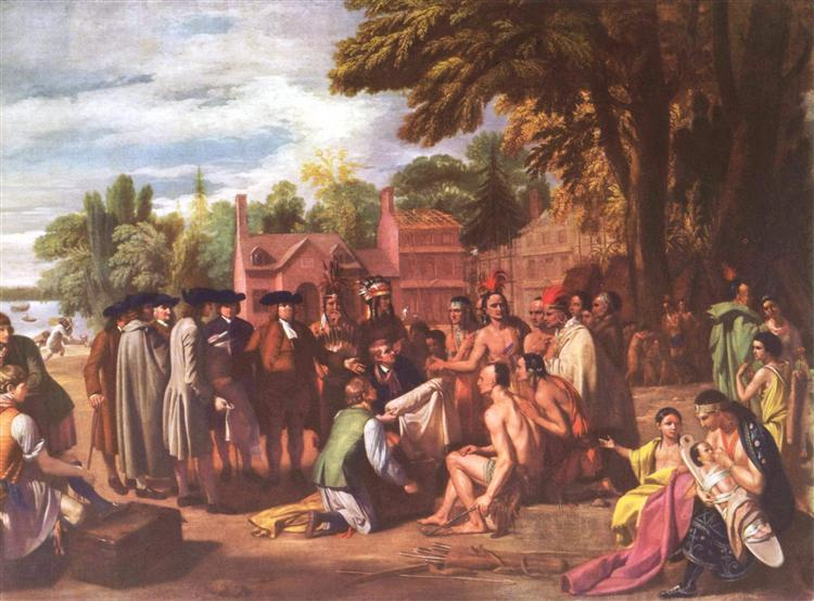 The Treaty of Penn with the Indians, 1771 - 1772 - Benjamin West
