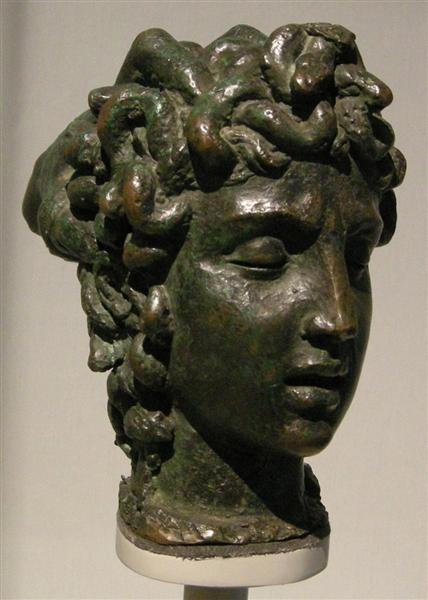 Modellino per la tesa di Medusa, 1550 - Benvenuto Cellini