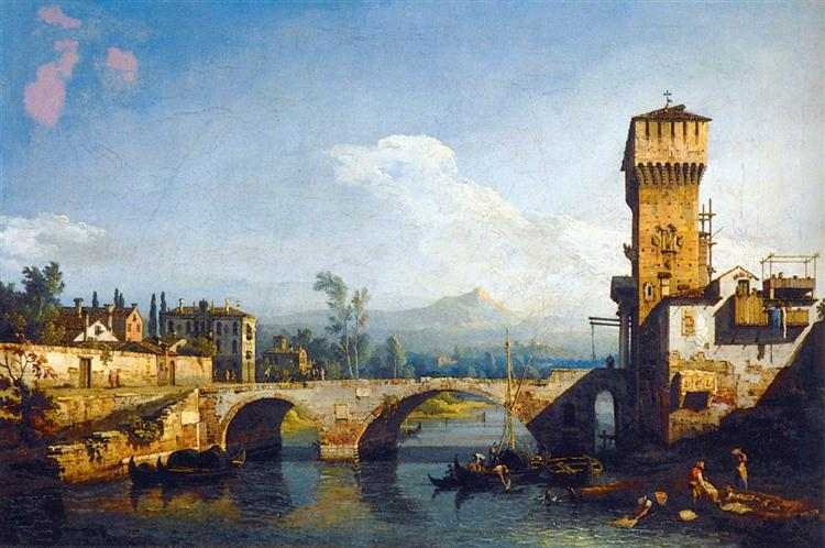 Capriccio Padovano, c.1741 - Бернардо Беллотто