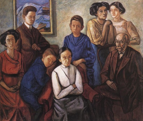 The Family, 1909 - Bertalan Por