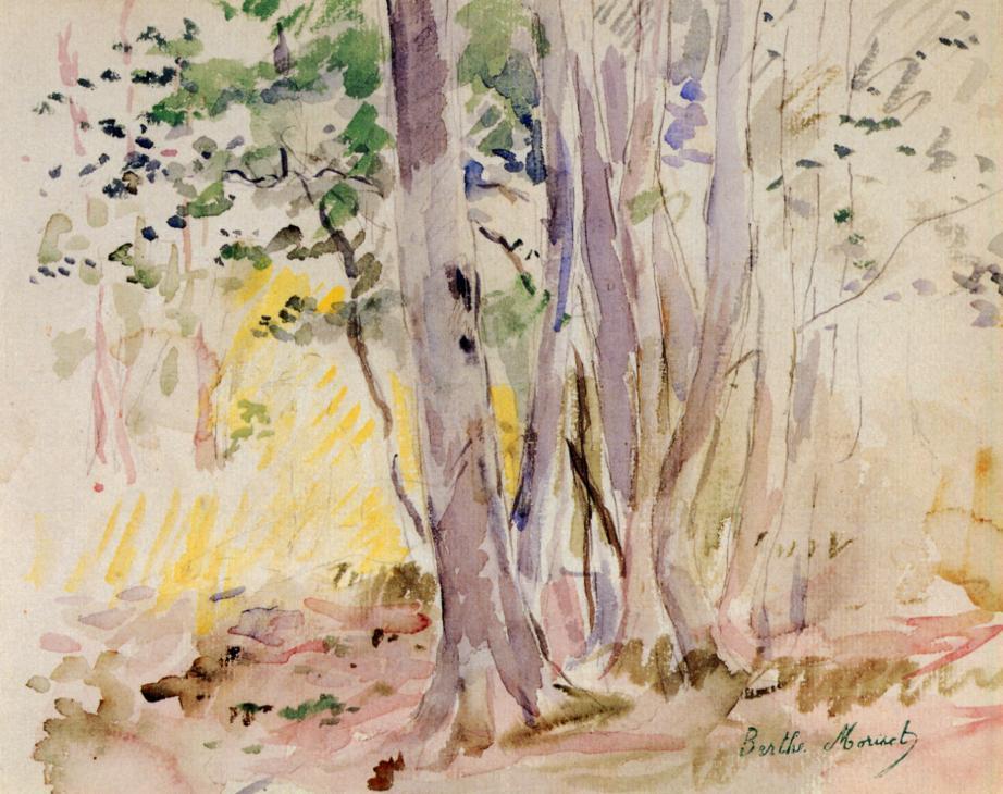 Berthe Morisot Boulogne-wood