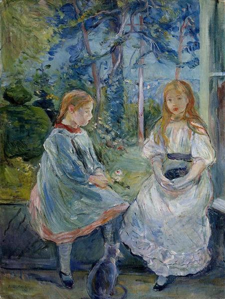 Young Girls at the Window, 1892 - Berthe Morisot