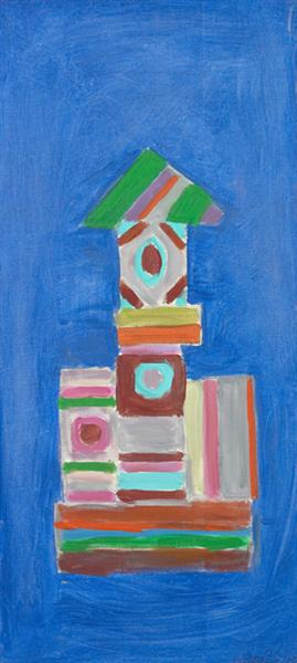 Going Up, 1978 - Betty Parsons