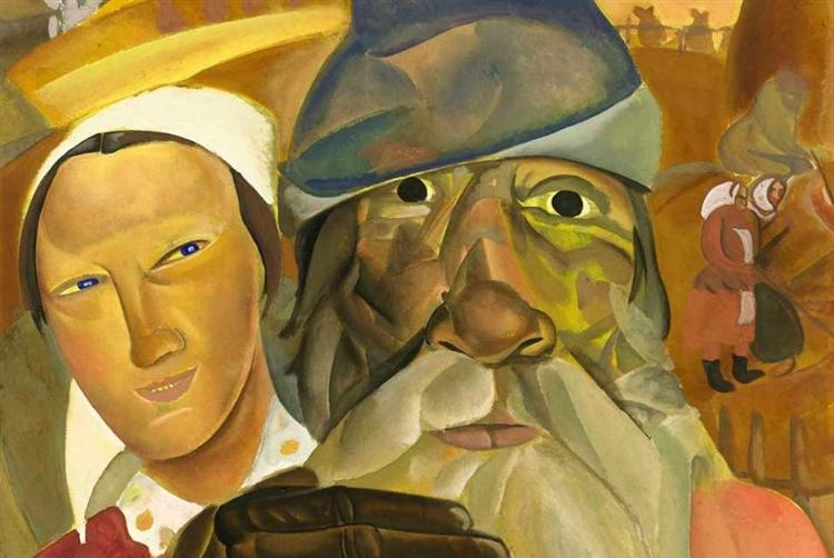 Faces of Russia, 1923 - Boris Grigoriev
