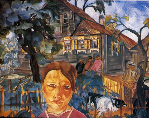 Village, 1918 - Boris Grigoriev