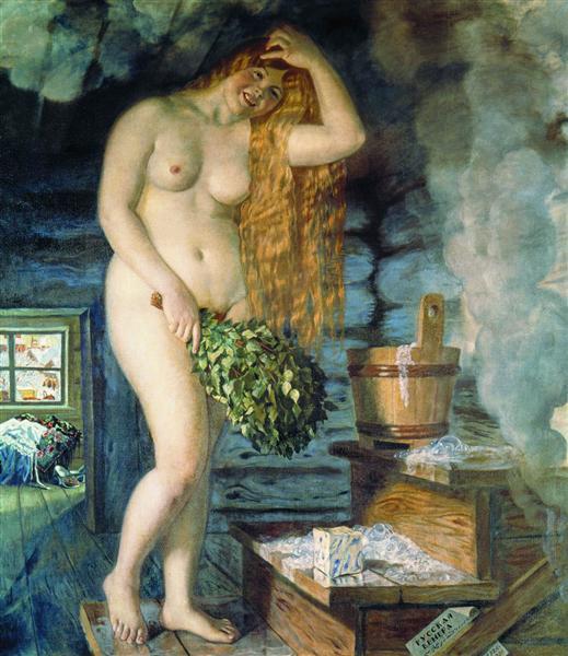 Russian Venus, 1925 - 1926 - Boris Kustodiev