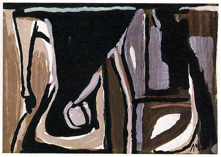 nocturne 1981 bram van velde. Black Bedroom Furniture Sets. Home Design Ideas