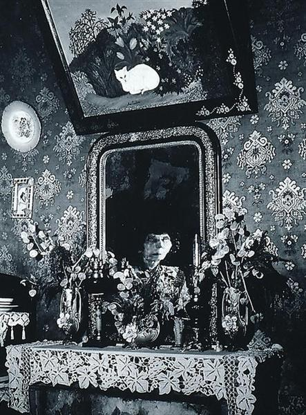 Une femme-peintre naive, 1950 - Брассай