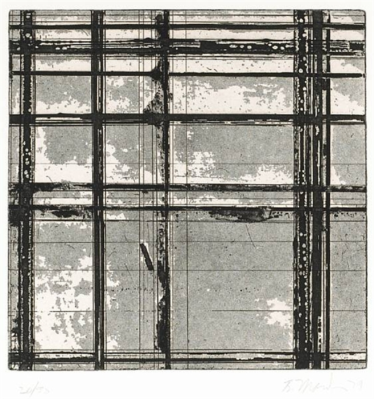 Untitled (from Tiles), 1979 - Brice Marden