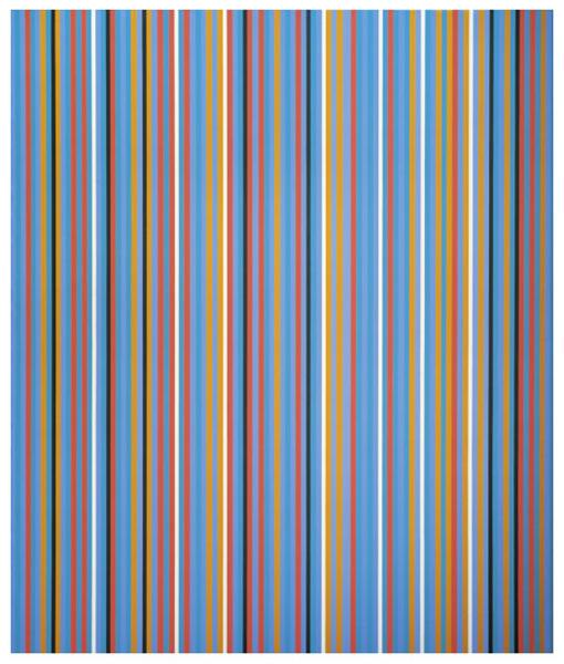 Big Blue, 1982 - Bridget Riley