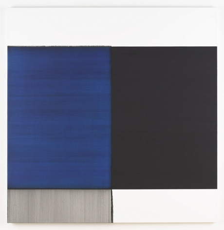 Exposed Painting Cobalt Blue, 2008 - Callum Innes