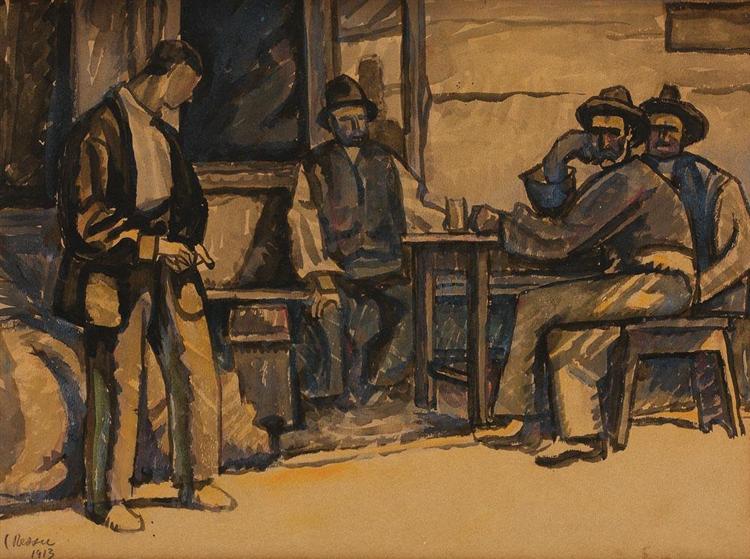 After Work, 1913 - Камиль Рессу