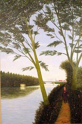 Chemin de Halage, 1919 - Camille Bombois