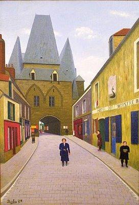 Port de Boulogne, 1927 - Camille Bombois