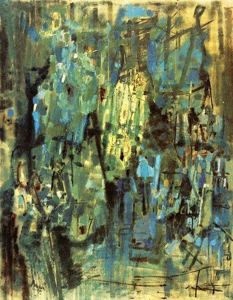 New York, 1955 - Camille Bryen