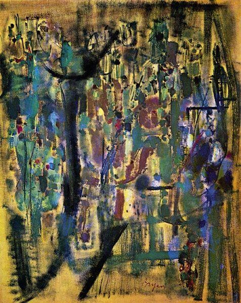 Ocraneil, 1955 - Camille Bryen