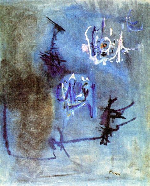 Tellurie, 1952 - Camille Bryen