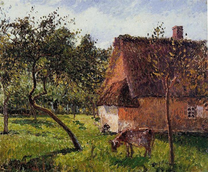 A Field in Varengeville, 1899 - Camille Pissarro