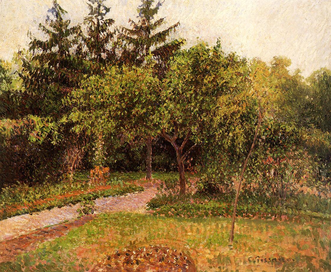 The Garden At Eragny Camille Pissarro Encyclopedia Of Visual Arts