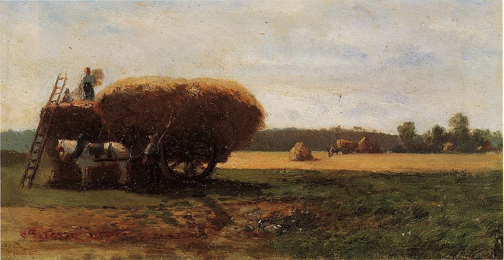 The Harvest, 1857