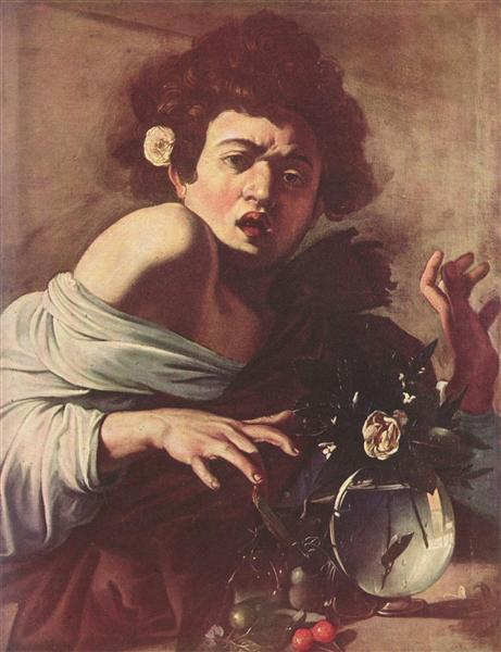Boy Bitten by a Lizard, c.1596 - Caravaggio