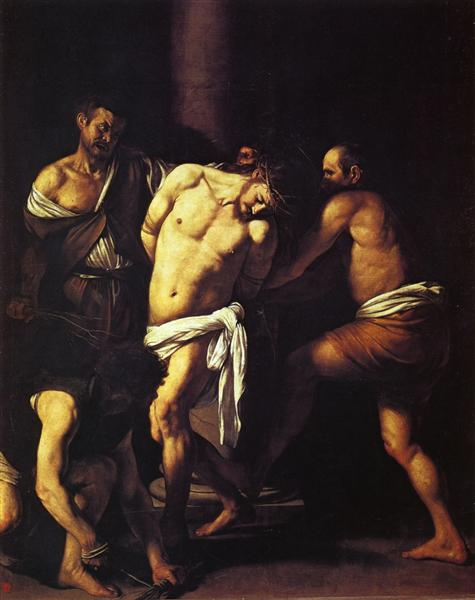Flagellation of Christ, c.1607 - Caravaggio