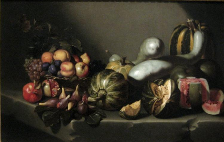 Still Life with Fruit, c.1603 - Caravaggio