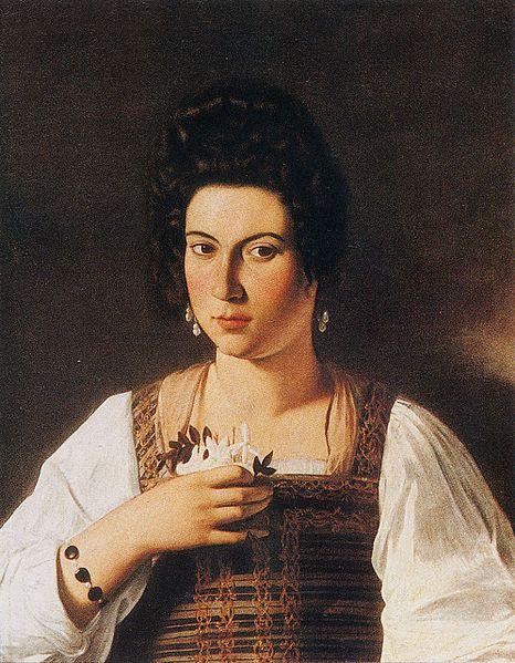 Young Sick Bacchus Portrait of a Courtesa...
