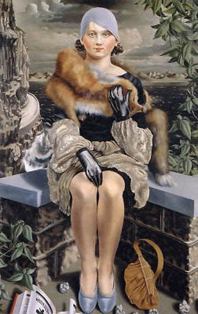 Portrait of a Lady, 1930 - Карел Виллинк