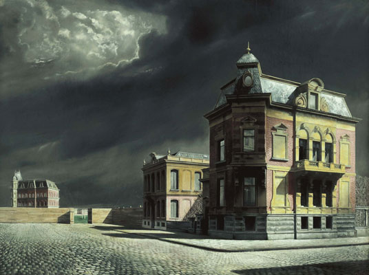 Townscape, 1934 - Carel Willink