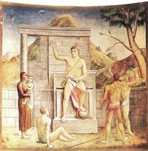 Giustiniano libera lo schiavo - Carlo Carra
