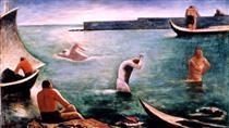 I nuotatori - Carlo Carra