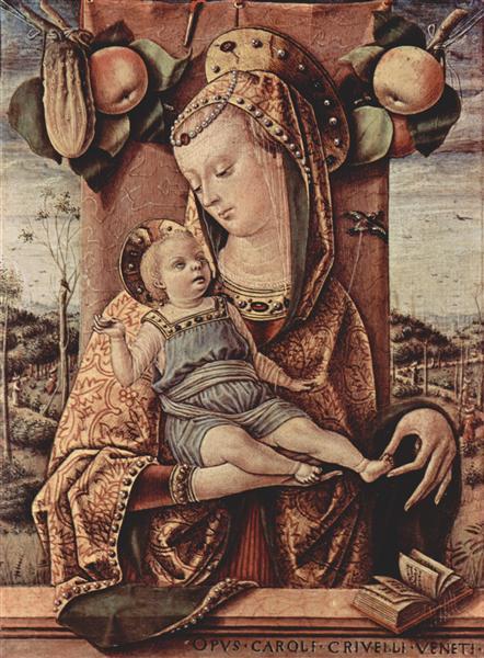 Madonna, 1480 - 1486 - Carlo Crivelli