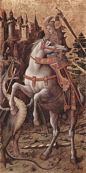 Saint George, c.1470 - Carlo Crivelli