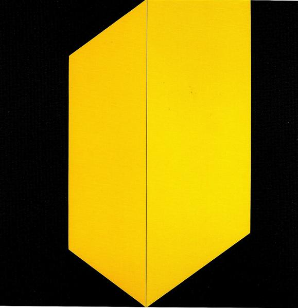 Black and Yellow, 2009 - Carmen Herrera