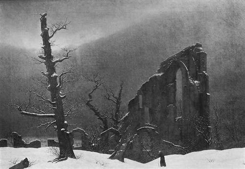Winter - Caspar David Friedrich