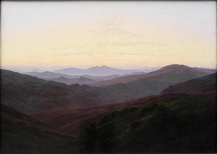Riesengebirge, c.1830 - c.1835 - Caspar David Friedrich