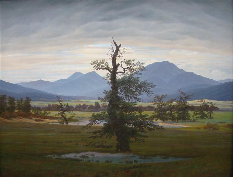 Tree, 1822 - Caspar David Friedrich