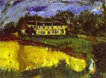 Old House near Chartres - Chaim Soutine