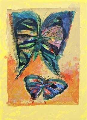 Butterflies - Charles Blackman
