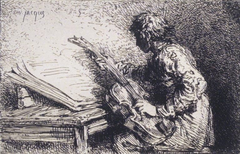 Musician, 1847