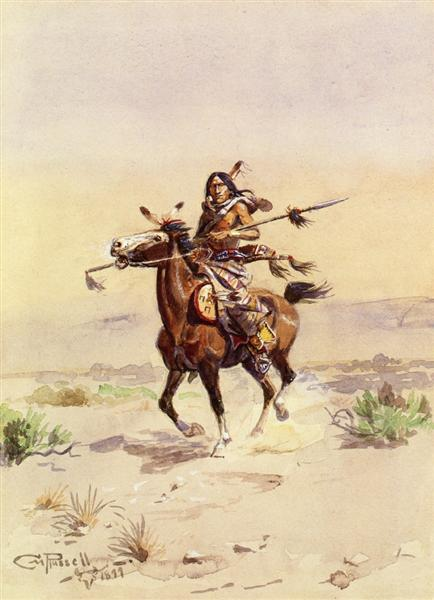 Nobleman of the Plains, 1899 - Charles M. Russell