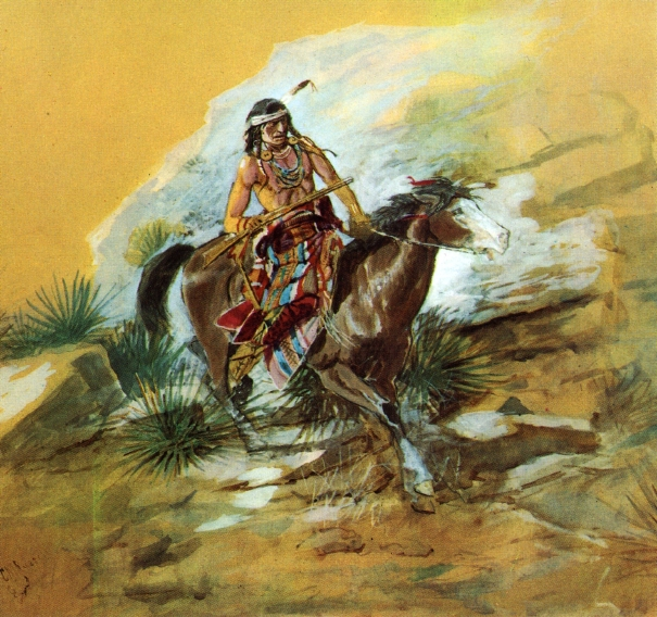 The Crow Scout, 1890 - Charles M. Russell